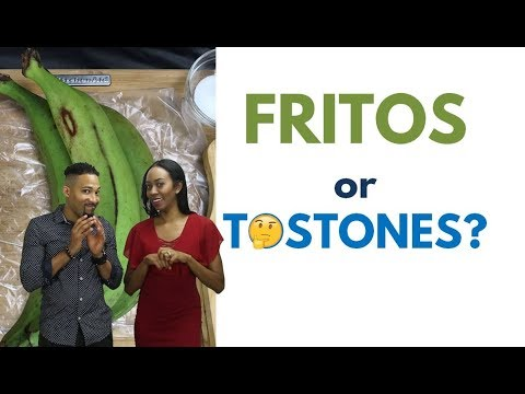 Learn Dominican Spanish by Watching How Gary Cooks Tostones (aka FRITOS!)
