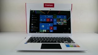 prestigio Smartbook 141C обзор ноутбука