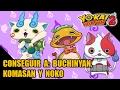 Komasan, Noko y Buchinyan: Tutorial de cómo se pueden conseguir a los tres - Yo-kai Watch 2