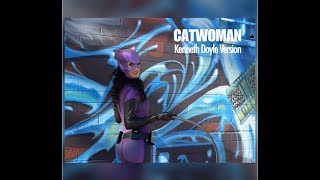 Video Closer look at our Catwoman Costume Replica, Kenneth Doyle Version download MP3, 3GP, MP4, WEBM, AVI, FLV Juli 2018