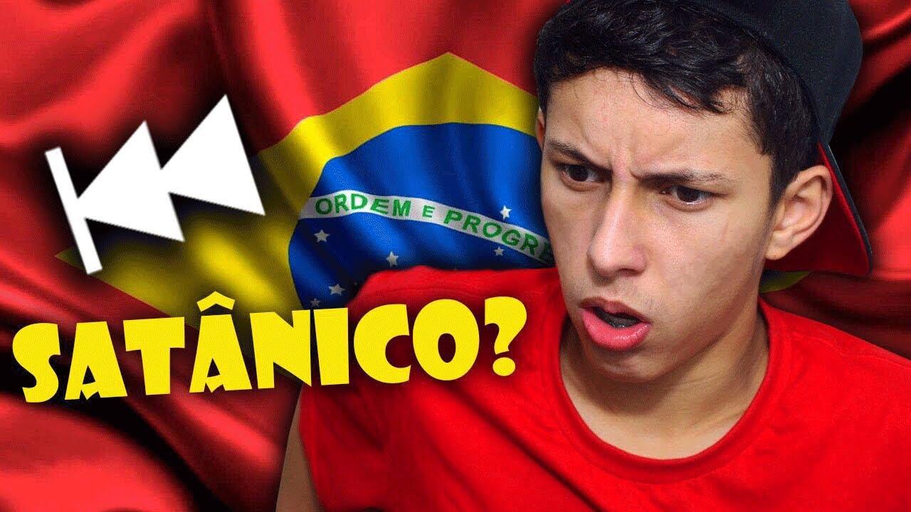 COLOQUEI O HINO DO BRASIL DE TRÁS PRA FRENTE E ME... - YouTube 7afe8dc549
