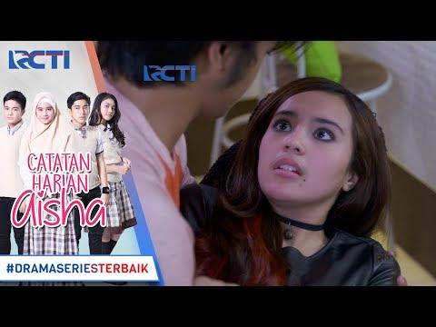 CATATAN HARIAN AISHA - Luna Terjatuh Dan Di Tangkap Oleh Arga [4 FEBRUARI 2018]