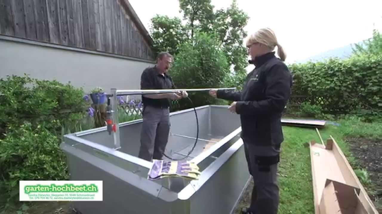 Garten Hochbeet Youtube