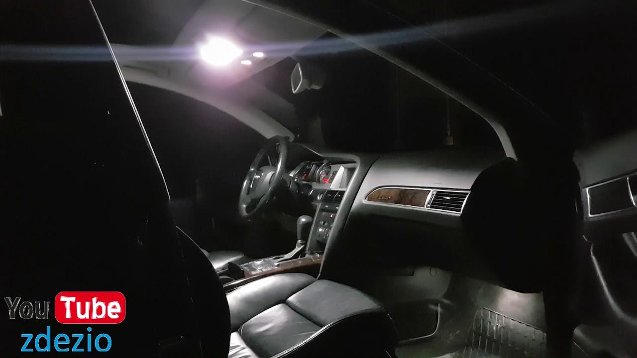 Zmiana Oświetlenia Na Led Audi A6 C6 Allroad Youtube