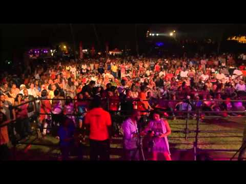 Saint Lucia Jazz & Arts Festival 2013 - Friday May 10th  At Pigeon Island National Park - Pt 2