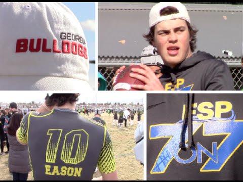 Jacob Eason '16 : Team FSP : Lake Stevens High (WA ) Balln in Vegas 2015
