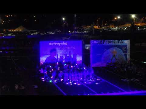 Dana Hills High School Homecoming game halftime show 2018.