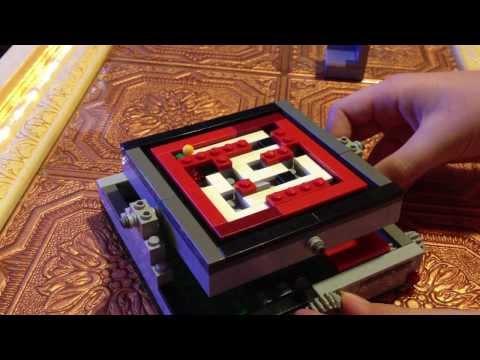 Lego mini marble maze tutorial