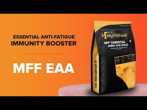 MFF EAA (Essential Amino Acids) | Essential for Muscle Repair, Recovery & Growth| Best Grade Amino