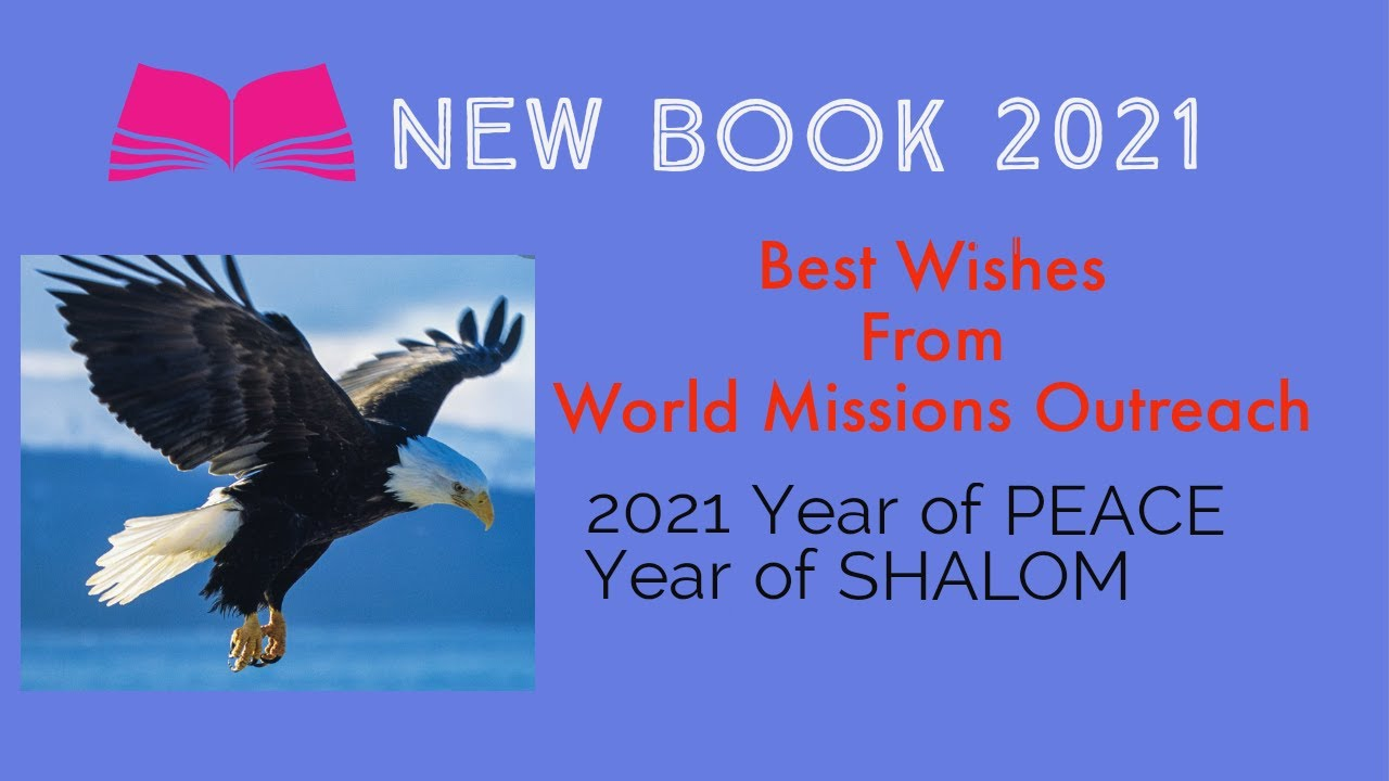 2021 YEAR OF PEACE , YEAR OF SHALOM