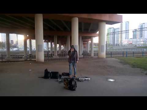 Видео, уличный талант в Минске
