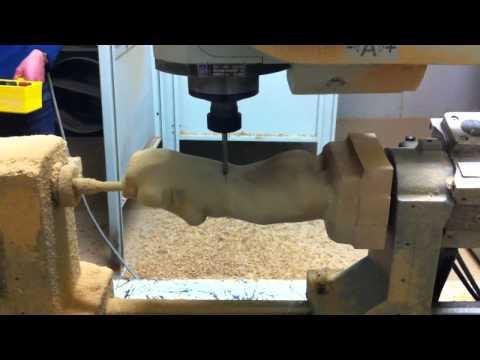 Nude woman torso milling