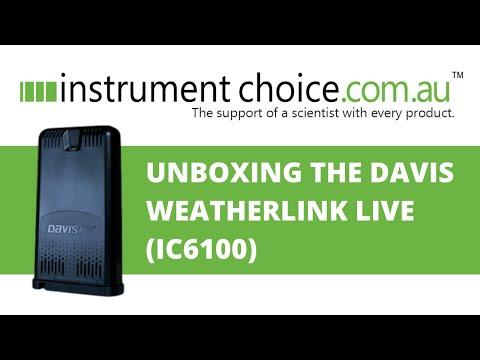 Unboxing Weatherlink Live