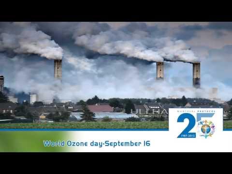 World Ozone Day  2013   YouTube