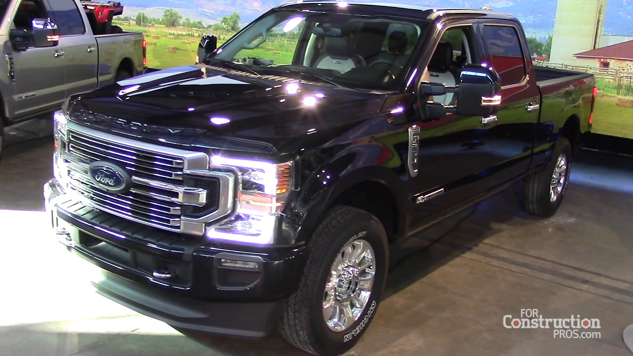 2020 Ford Super Duty Offers New 7 3 Liter Gasoline Engine