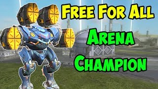 War Robots Free For All Arena Champion - Last Man Standing Mk2 WR