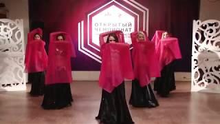 """Танец живота в Екатеринбурге.  Группа """"KarmaTribe"""" Ксении Токаревой."""