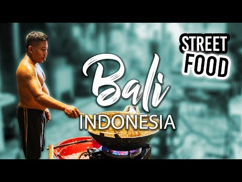 Trying Traditional Street Food in Bali