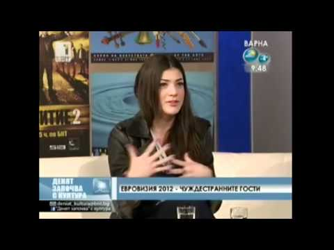 "Ivi Adamou at ""The Day Begins With Culture"" (Bulgarian broadcast - BNT1 TV)"