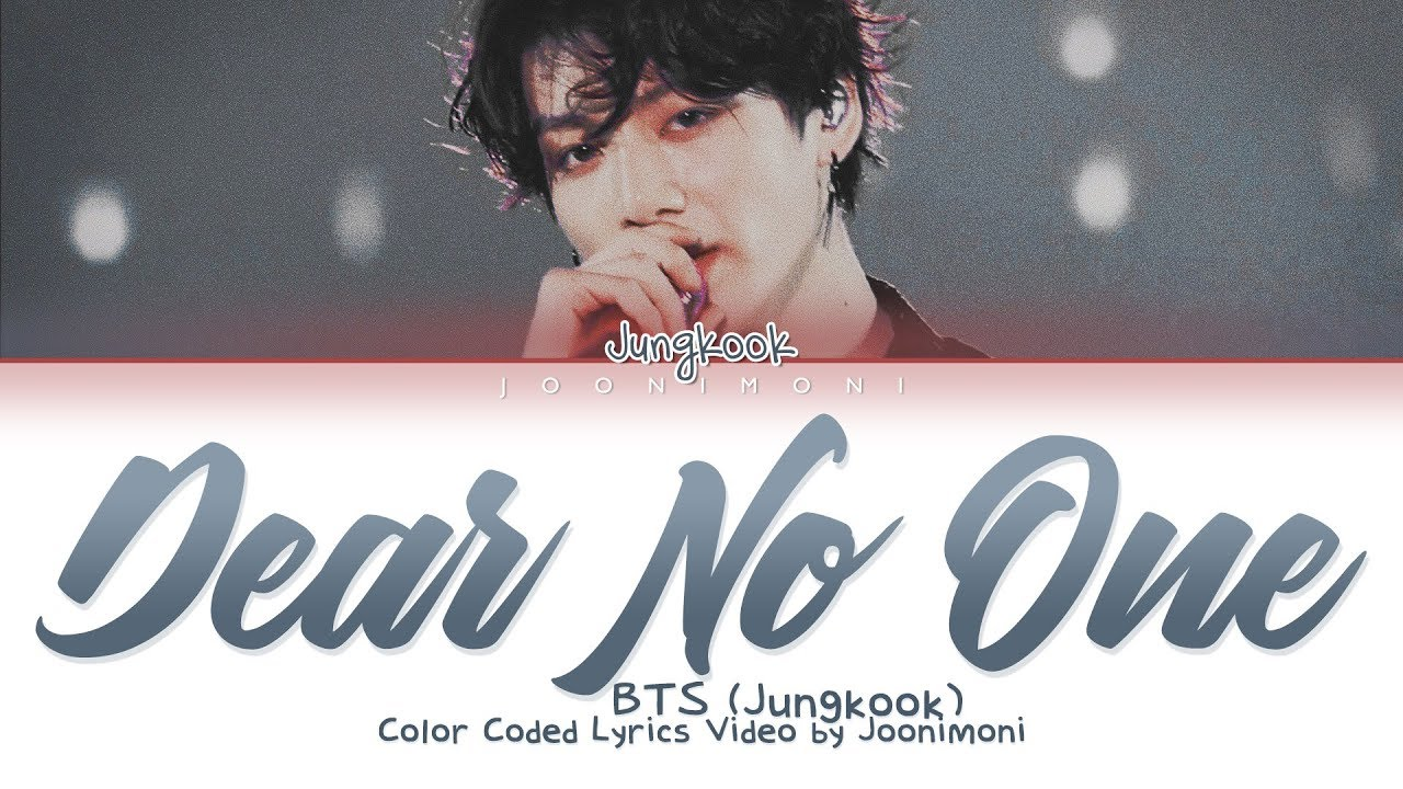 Download BTS (JUNGKOOK) - Dear No One (Cover English Lyrics)  #GoldenJungkookDay