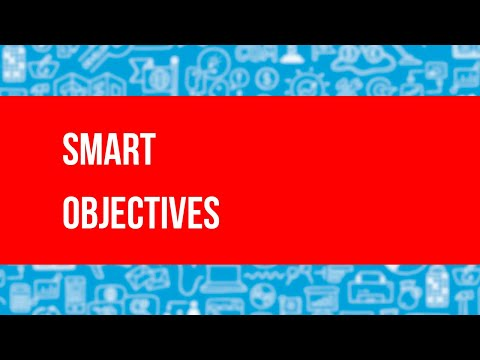 How to build SMART objectives