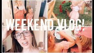 NEW OUTFITS, DANCING, & SUMMER PARTY   FAMILY WEEKEND VLOG   KERRY CONWAY