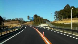 (HD) Xacti 車載動画 国道473号バイパス新規開通区間