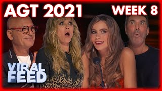 ALL AMERICA'S GOT TALENT 2021 AUDITIONS WEEK 8 | VIRAL FEED