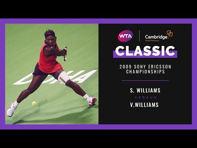 Serena Williams v. Venus Williams | Full Match | 2009 Doha Final
