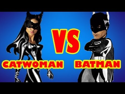 Batman vs Catwoman - Arianny Celeste in Film Strip!