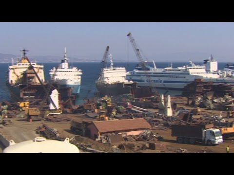 Turkey's massive ship recycling program