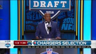 2016 NFL Draft Rd 2 Pk 35 | San Diego Chargers Select TE Hunter Henry