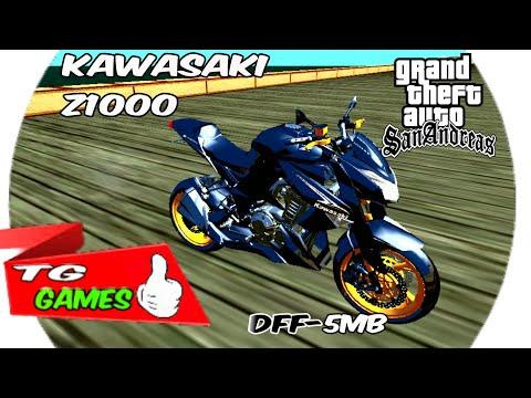 KAWASAKI Z1000 2013(GTA SA ANDROID)✔