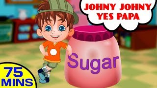 Johny Johny Yes Papa and More Nursery Rhymes Video Collection by Baby Hazel Nursery Rhymes