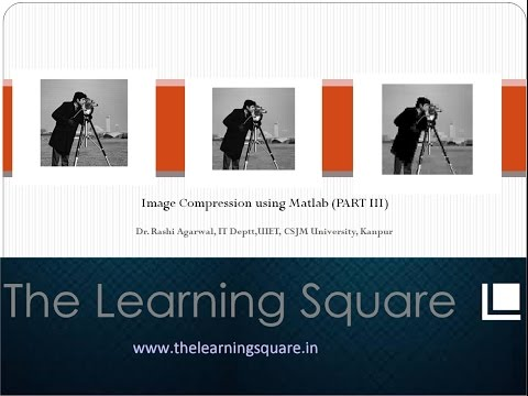 Image compression part 3 (JPEG algorithm) using MATLAB