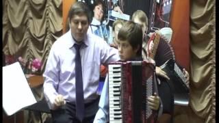 Мастер класс Бажилина по игре на аккордеоне