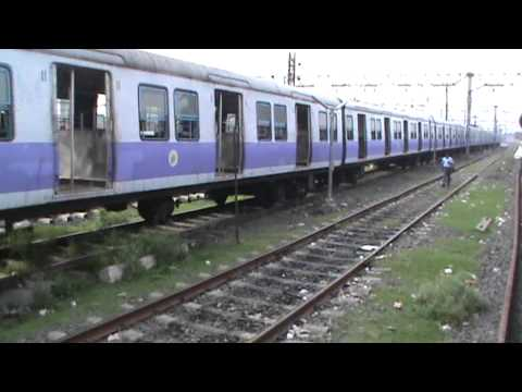 Departing from Bandel Junction on HB Main line: Black Diamond Express on-board