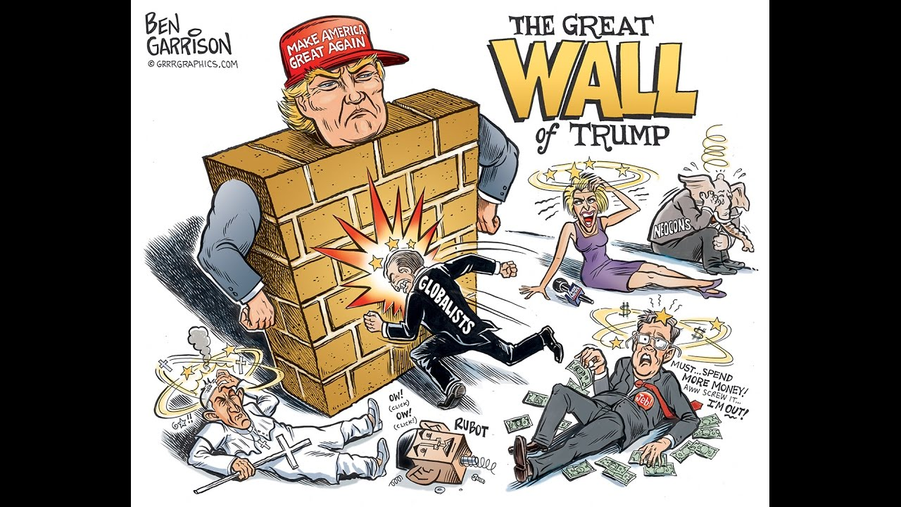 Image result for trump walls