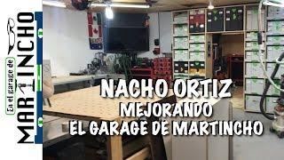 Nacho Ortiz Mejorando El Garage de Martincho