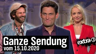 Extra 3 vom 15.10.2020 mit Christian Ehring
