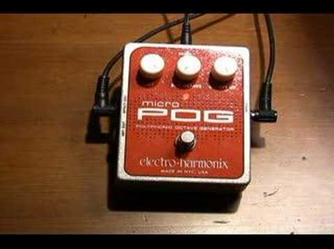 Electro Harmonix Micro POG Pedal Demo with Dave Weiner