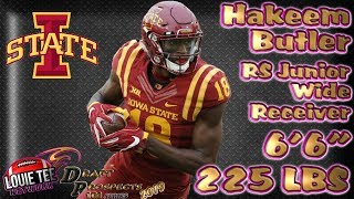 2019 NFL Draft Prospects 101 | Film Session | WR Hakeem Butler
