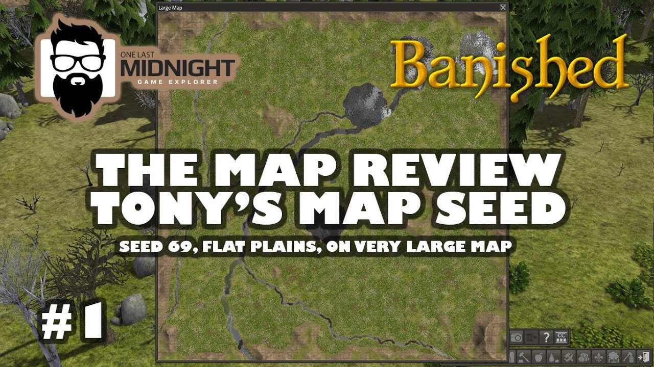 Banished - The Map Review - Tony's Map Seed