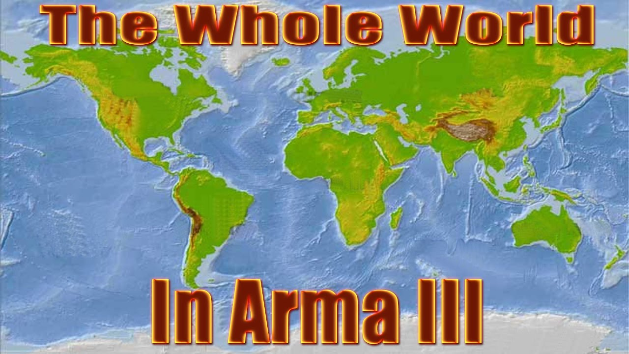 The Biggest Map in Arma History YouTube