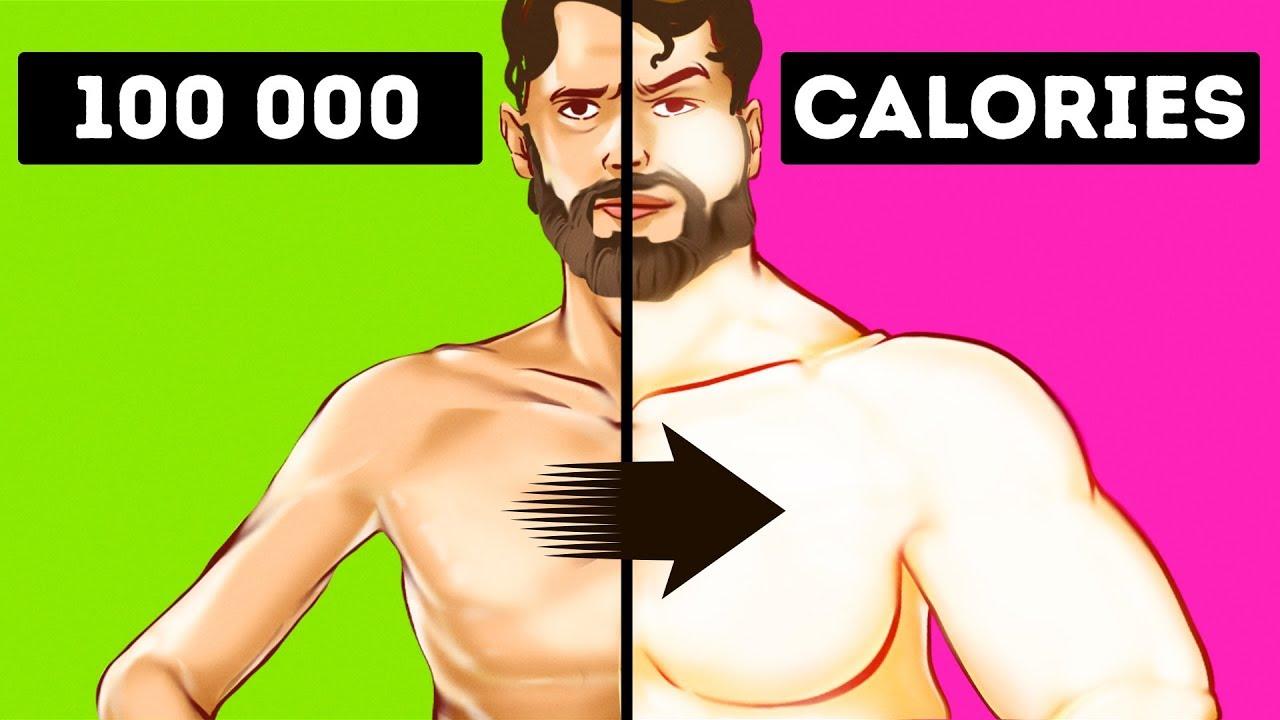 Што ако изедете 100.000 калории во еден ден?