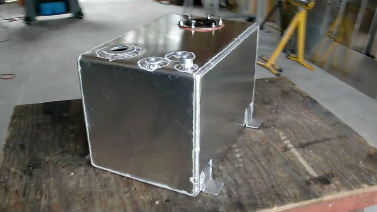 Gallon aluminum tank boydwelding youtube