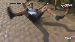 Cycling Crashes/Fails/Close Calls Compilation/ Paris-Roubaix(GoPro)