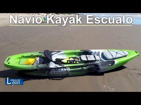 """Navio Kayak """"ESCUALO"""" / Kayak para PESCADORES"""