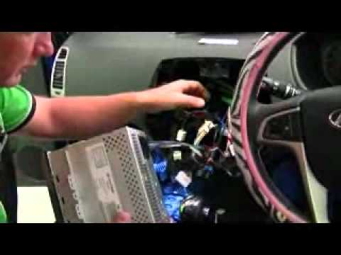 Wiring Diagram Of Car Stereo Grote Turn Signal Switch Bodytechautomotive - Insane Audio Hyundai I20 Youtube