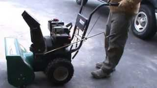 How to fix a snow blower that won't start